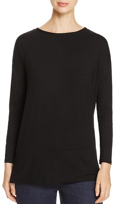 Eileen Fisher Petites Drop Shoulder Tunic - 100% Exclusive $138 thestylecure.com