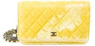 Chanel Velvet Wallet On Chain