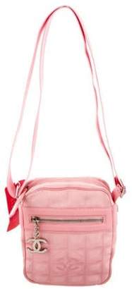 Chanel Travel Ligne Crossbody Bag Pink Travel Ligne Crossbody Bag