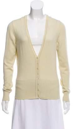 Malo Wool Knit Cardigan