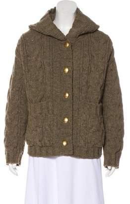 Stella McCartney Wool Cable Knit Jacket