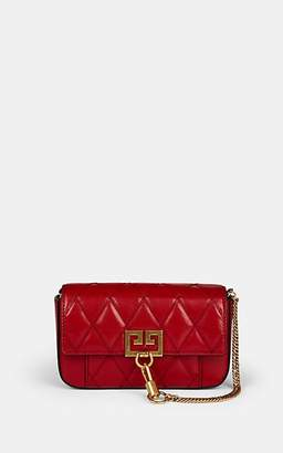 Givenchy Women's Pocket Mini Leather Crossbody Bag - Red