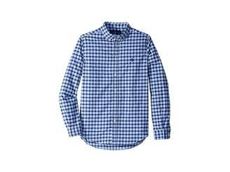 Polo Ralph Lauren Performance Poplin Shirt (Big Kids)