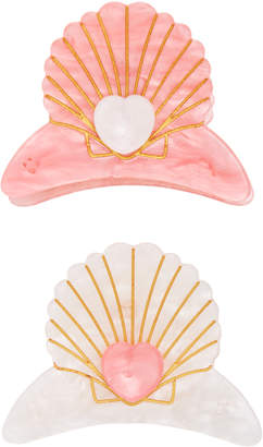 Margherita Delphine Set Of Two Hair Clips