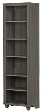 South Shore Hopedale Narrow Standard Bookcase