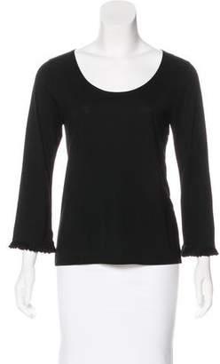 Cacharel Jersey Long Sleeve Top