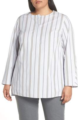 Lafayette 148 New York Tilly Stripe Blouse