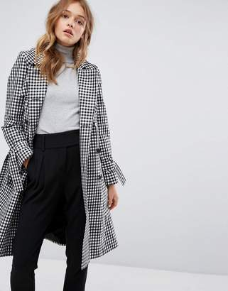Helene Berman Gingham Trench Coat $190 thestylecure.com