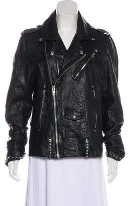 Zadig & Voltaire Studded Leather Jacket
