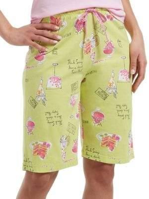Hue Spring Goodies Bermuda Pajama Shorts
