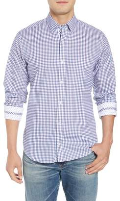Tailorbyrd Beck Regular Fit Windowpane Sport Shirt