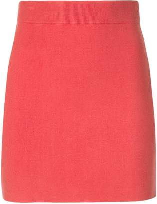 Alexander Wang short straight skirt