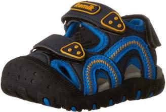 Kamik Seaturtle Sandals, Black/Lime