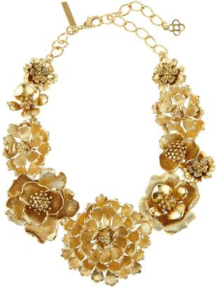 Oscar de la Renta Blooming Bold Flower Necklace