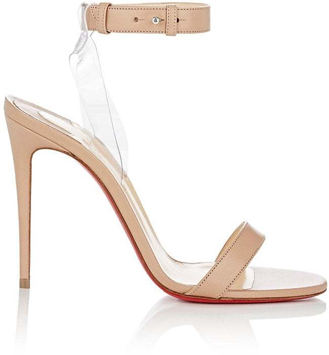 Christian Louboutin Women's Jonatina Leather & PVC Sandals