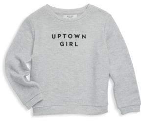 Milly Minis Little Girl's & Girl's Uptown Girl Sweatshirt