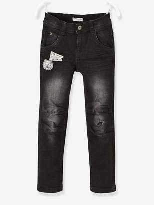 Vertbaudet WIDE Hip, Slim Leg Jeans for Boys