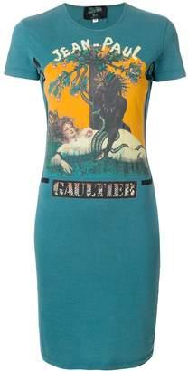 Jean Paul Gaultier Pre-Owned logo T-shirt dress