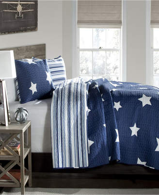 Lush Decor Star 3-Pc Set Full/Queen Quilt Set