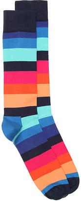 Happy Socks Big Stripe Crew Socks - Men's