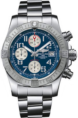 Breitling A1337111/C871 168A Super Avenger II stainless steel chronograph watch