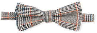 Fore Boys' Gentleman Houndstooth Plaid Bow Tie