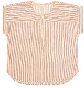 Ketiketa Sale - Emile Striped Short Sleeve Kurta