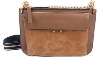 Marni Leather & Suede Trunk Bag