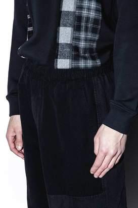 3.1 Phillip Lim Mixed Canvas Patchwork Trouser