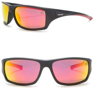 Timberland Injected 61mm Polarized Sunglasses