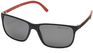 Polo Ralph Lauren Men's 0Ph4092 550481 58 Sunglasses