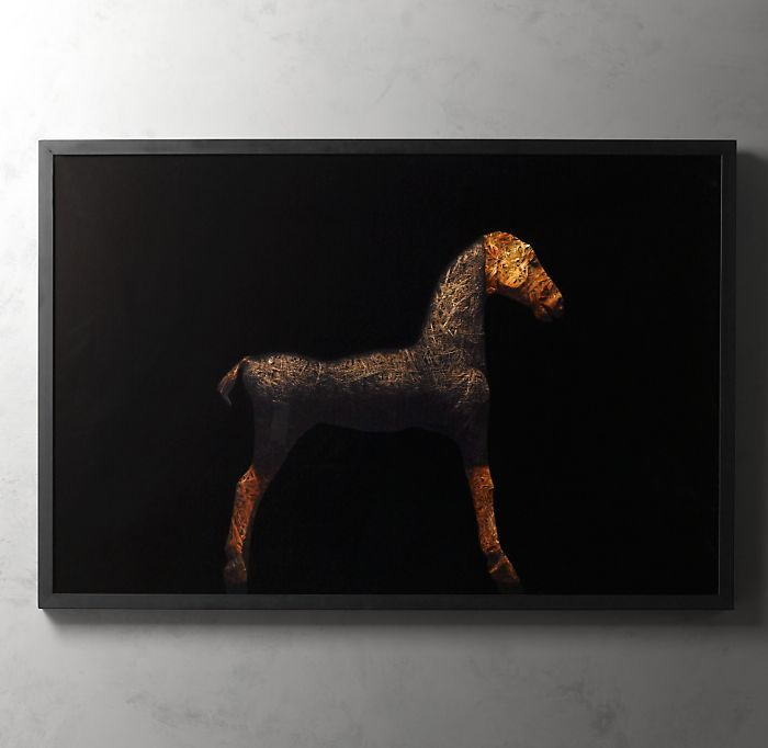 Horse Straw Artwork by Todd Murphy