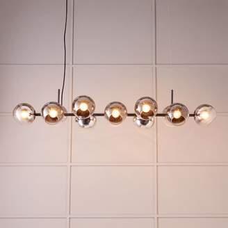 west elm Staggered Glass Chandelier - 12-Light