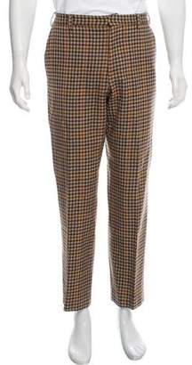 Etro Wool Check Pants