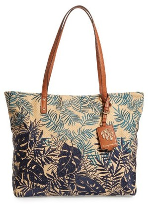 Tommy Bahama Palm Beach Tote - Green $128 thestylecure.com