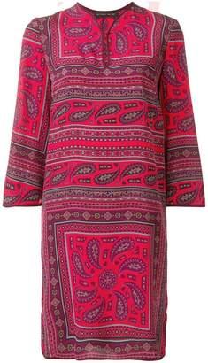Etro geometric print midi dress