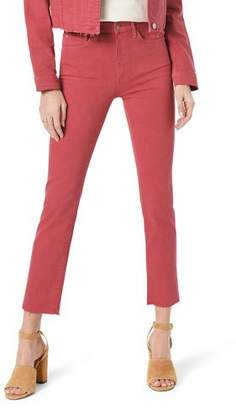 Joe's Jeans Milla High-Rise Raw-Edge Jeans