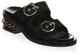 Nicholas Kirkwood Casati Pearl Two-Strap Sandals