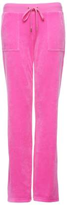 Juicy Couture Bling Velour Del Rey Pant