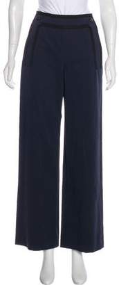 Chanel High-Rise Sailor Pants