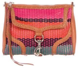 Rebecca Minkoff Woven Large M.A.C. Crossbody Bag