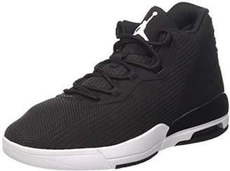 Nike Men's Jordan Academy Basketball Shoes, White/Black