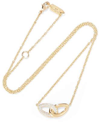 Ippolita Cherish Bond 18-karat Gold Diamond Necklace