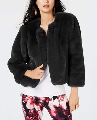 Thalia Sodi Faux-Fur Jacket