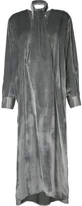 CHRISTOPHER ESBER neck tie long sleeved dress