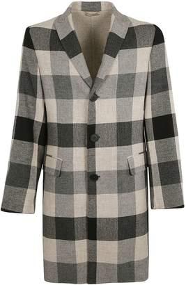Bottega Veneta Checked Coat