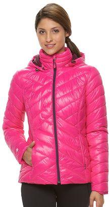 Women's Tek Gear® Hooded Packable Puffer Jacket $100 thestylecure.com