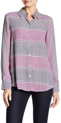 Foxcroft Dotted Stripe Shirt