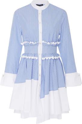 Marissa Webb Jada Stripe Shirt Dress