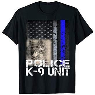 Police K-9 Unit T-Shirt For Canine Officer Mom Dad Grandpa